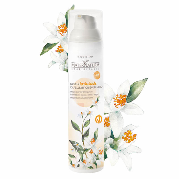 Orange flower curl defining cream