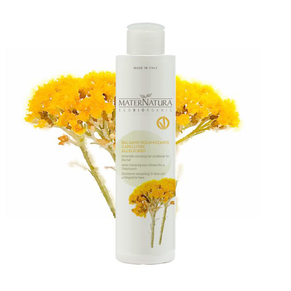 Immortelle Volumising hair conditioner for fine hair